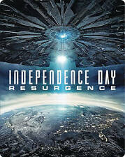 INDEPENDENCE DAY RESURGENCE BLU RAY + DVD BEST BUY EXCLUSIVE STEELBOOK