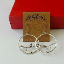 New Alloy Retro Lucky Brand Bird Rest Earrings