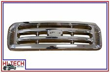 NEW 99 00 01 02 03 04 FORD F250 F350 SUPER DUTY / EXCURSION ALL CHROME GRILLE
