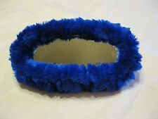 Fuzzy Mirror Muff Blue a cool 50's touch for your Custom Cruiser (1) Hot Rod