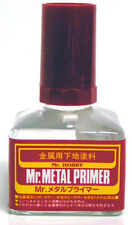 Mr Hobby Metal Primer 40ml MP242 Gunze GSI Creos Paint Supply Tool Jar Liquid