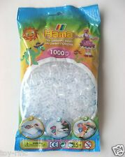 HAMA MIDI BEADS REFILL PACK (207-19) - 1000 CLEAR BEADS - NEW & SEALED!