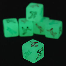4PC Luminous Sex Game Dice Glow in the Dark Couple Bedroom Saucy Adult Aid Toys