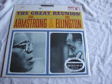 Sealed Louis Armstrong Duke Ellington Great Reunion Quiex 200g Classic Handmade