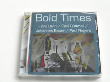 Bold Times - Tony Levin - Jazz (CD Album) Sealed