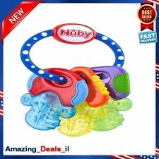 Nuby Baby Soft Icybite Keys baby teething toys Teether Toy Pacifier Early Teeth