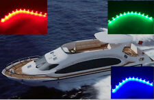 "3pcs Boat Navigation LED Lighting RED,GREEN,BLUE 12"" Waterproof Marine LED Strip"