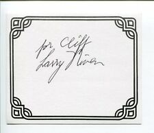 Larry Niven Ringworld Science Fiction Sci-Fi Author Signed Autograph Bookplate