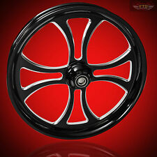 "Harley Davidson 23"" Inch Custom Front Wheel ""Maltese"" Harley Wheels"