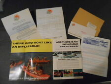 1971 LEISURE IMPORTS PYRAWA INFLATABLE BOATS MAIL IN BROCHURE ,PRICE GUIDE,