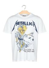 METALLICA - Doris  - WHITE double sided  Eleven Paris t-shirt L NWT rare
