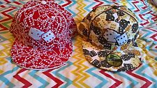 [2] New Era 59Fifty 'FLOCKED DICE' Fitted Hats (Red & White and Multicolored)
