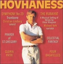 Hovhaness: Symphony No. 29; The Rubaiyat, New Music