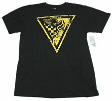 $28 NEW FOX RACING PIT CREW PREMIUM TEE T SHIRT BLACK LARGE code H154