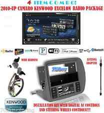 KENWOOD RADIO DNN990HD + SCOSCHE GM5201AB 2010  UP CHEVY CAMARO DASH KIT INSTALL