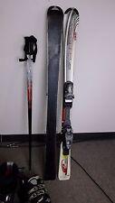 Ski Package, USED Rossignol Edge CUT SKIS, ADJ.salomon BINDINGS, boots  & POLES