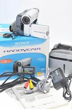 Sony Handycam DCR-HC14E Mini DV Camcorder - Excellent Condition - Extras BOXED