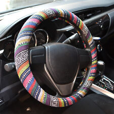 "38cm/15""DIY Universal Car Steering Wheel Cover Antiskid convenience"