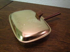 MILBERN BRASS TABLE BUTLER ; Brush your table crumbs into the butler