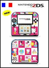 SKIN STICKER AUTOCOLLANT DECO POUR NINTENDO 2DS REF 70 KITTY