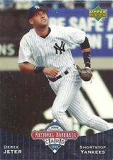 2006 Upper Deck Derek Jeter NY Yankees National Baseball Card Day UD6 Lot of 25