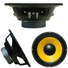 "WOOFER MEDIO BASSO WEB 16,50 CM 6,5"" 165 MM W-068 GIALLO CASA HOME DISCO 8 OHM"