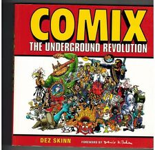 COMIX THE UNDERGROUND REVOLUTION by Dez Skinn, 2004, paperback,