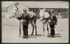 c.1890's PHOTO  BRITISH ARMY REGIMENT UNIFORM - SOLDIERS WITH THEIR PACK MULES