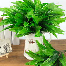 1Pc 7 Branches Home Party Decor False Plant Artificial Fern Leaves Exotic