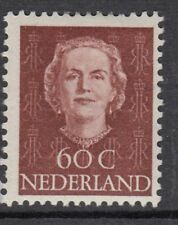 NETHERLANDS :1949 Queen Juliana 60c lake-brown SG 697 mint