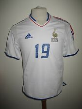 France MATCH WORN away friendly football shirt soccer jersey maillot foot size M