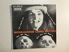 "SCREAMING LORD SUTCH: Jack The Ripper + 3-France 7"" 1965 Decca 457.063 EP PCV"