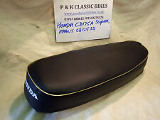 HONDA SS125/CD175 EARLY MODEL SEAT COVER & STRAP