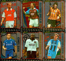 2000 Merlin Premier Gold Soccer Star Player Foil Card Set (20) (B1-B20)