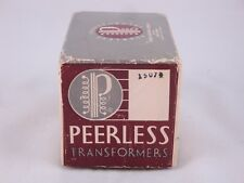 NOS Altec Peerless 15074 Line Matching Transformer, new original box vintage ni