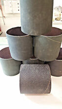 """3"""" x 3"""" Sanding Bands,27 Bands, 5 Asstd Grits,USA & Germany,New, Silicon Carbide"""