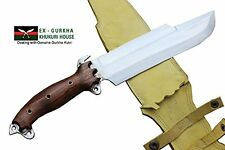"10"" Blade Predator Survival Machete Military Kukri Knife -Full Tang Hand Forged"