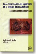 Co-construccion Del Significado En El (Spanish Edition)-ExLibrary