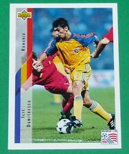 RARE FOOTBALL CARD UPPER DECK 1994 USA 94 ILIE DUMITRESCU ROUMANIE ROMANIA