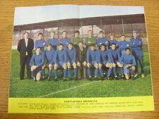 1967/1968 Football League Review: Vol 2 No 35 - Colour Picture - Hartlepool Unit