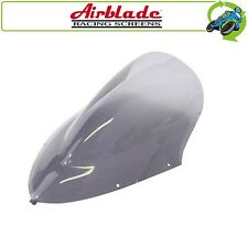 NEW AIRBLADE DOUBLE BUBBLE LIGHT SMOKED SCREEN FOR KAWASAKI ER-6F 06 07 08 ONLY