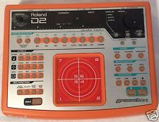 Roland D2 GrooveBox Drum Machine Sequencer Synthesizer
