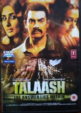 TALAASH,DVD,BOLLYWOOD MOVIE,WITH ENGLISH SUBTITLES,AAMIR KHAN IN