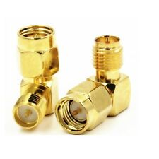 RP-SMA Female to SMA Male Right Angle connector adaptor F00444K