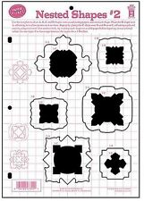 HOTP 7315 Paper Pizazz Card & Scrapbooking Template Nested Shapes #2 + FREE GIFT