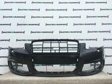 AUDI A6 S LINE 4F 2009-2011 FRONT BUMPER IN BLACK GENUINE [A253]