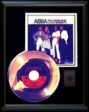 ABBA GOLD RECORD DISC TAKE A CHANCE ON ME  RARE  45 RPM SLEEVE