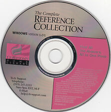 "Compton's ""The Complete Reference Collection"" CD-ROM for Windows--FREE SHIPPING"