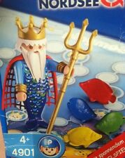 Playmobil 4901 Sea Nordsee Merman King Neptune Fish Game Ocean Mermaid
