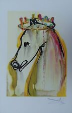 "SALVADOR DALI : ""Caligula"" LITHOGRAPHIE SIGNEE ARCHES ISRAEL 1983"